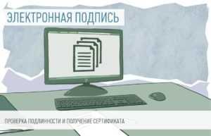 Проверка электронной подписи 2019 сертификат ключа
