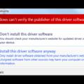 Отсутствует цифровая подпись установочных файлов касперский. Что такое цифровая подпись драйвера windows и как ее отключить