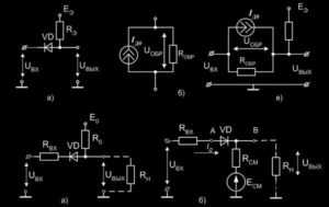 Электронные ключи, Насыщенный транзисторный ключ на биполярном транзисторе, Статические характеристики ключа, Динамические характеристики электронного ключа, Способы увеличения быстродействия ключа на биполярном транзисторе - Электронные ключи. Особенности схемотехники РТЛ и ДТЛ